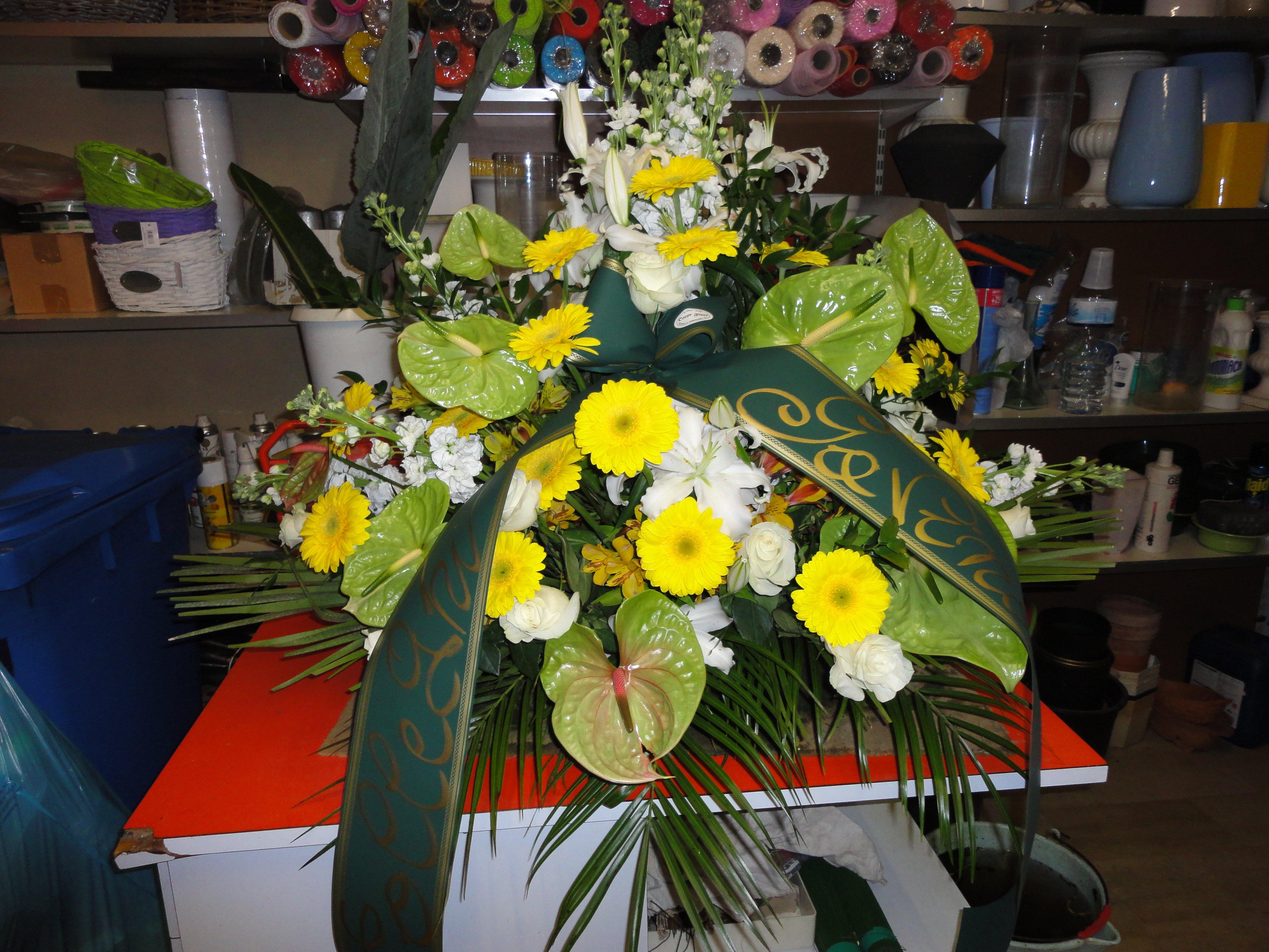 fiori per cerimonia funebre