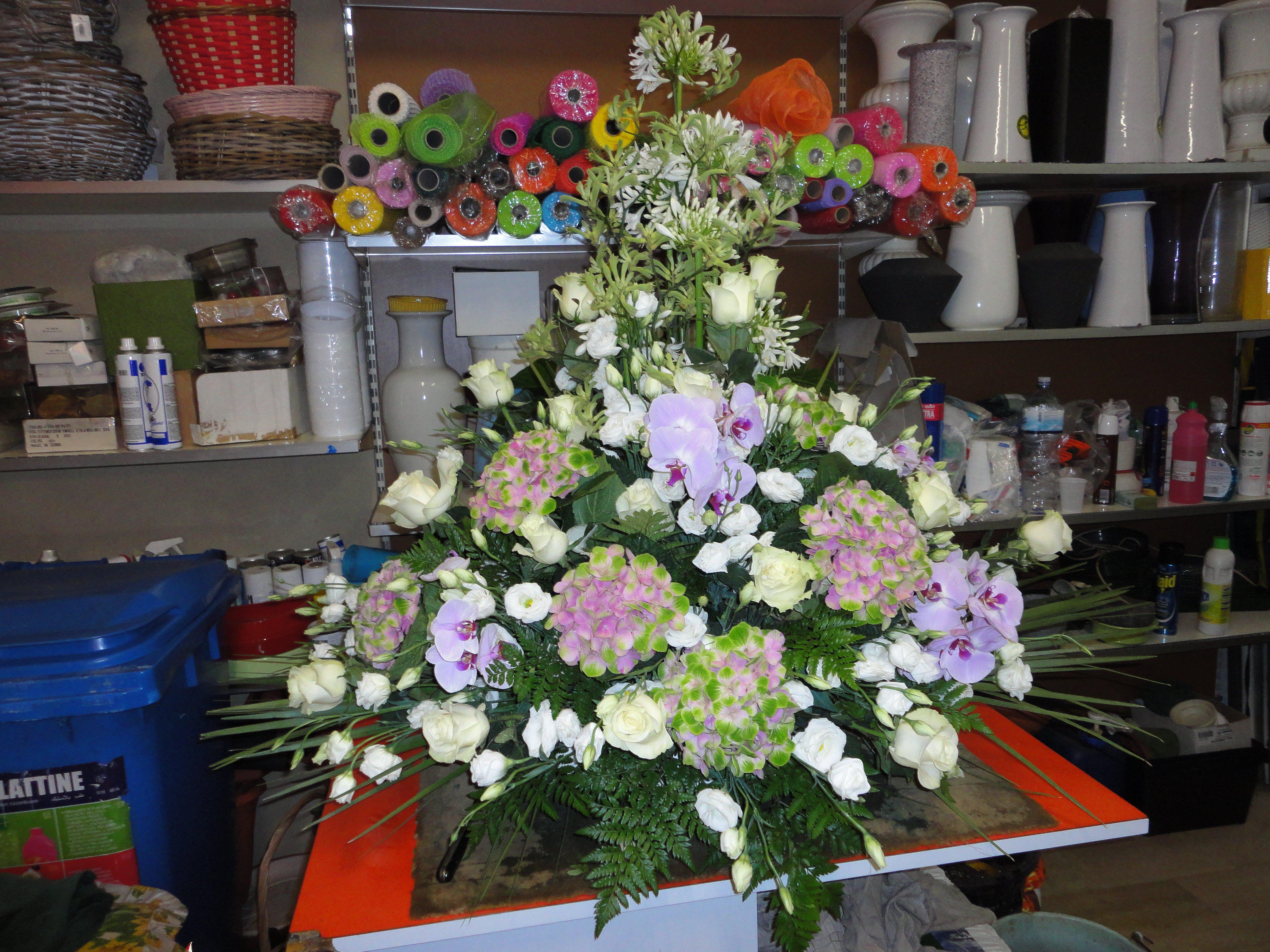 allestimento di fiori