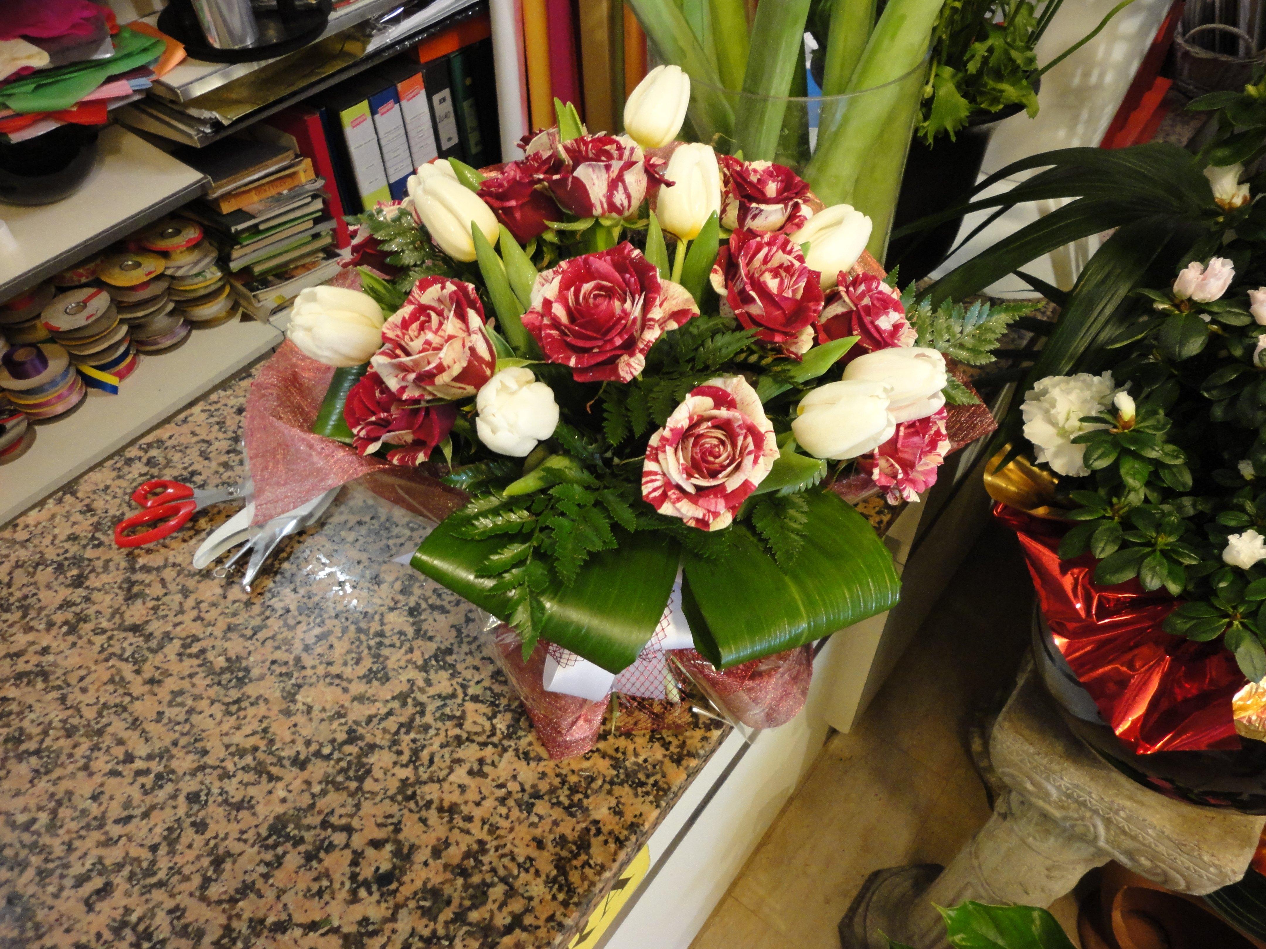 composizione floreale personalizzata