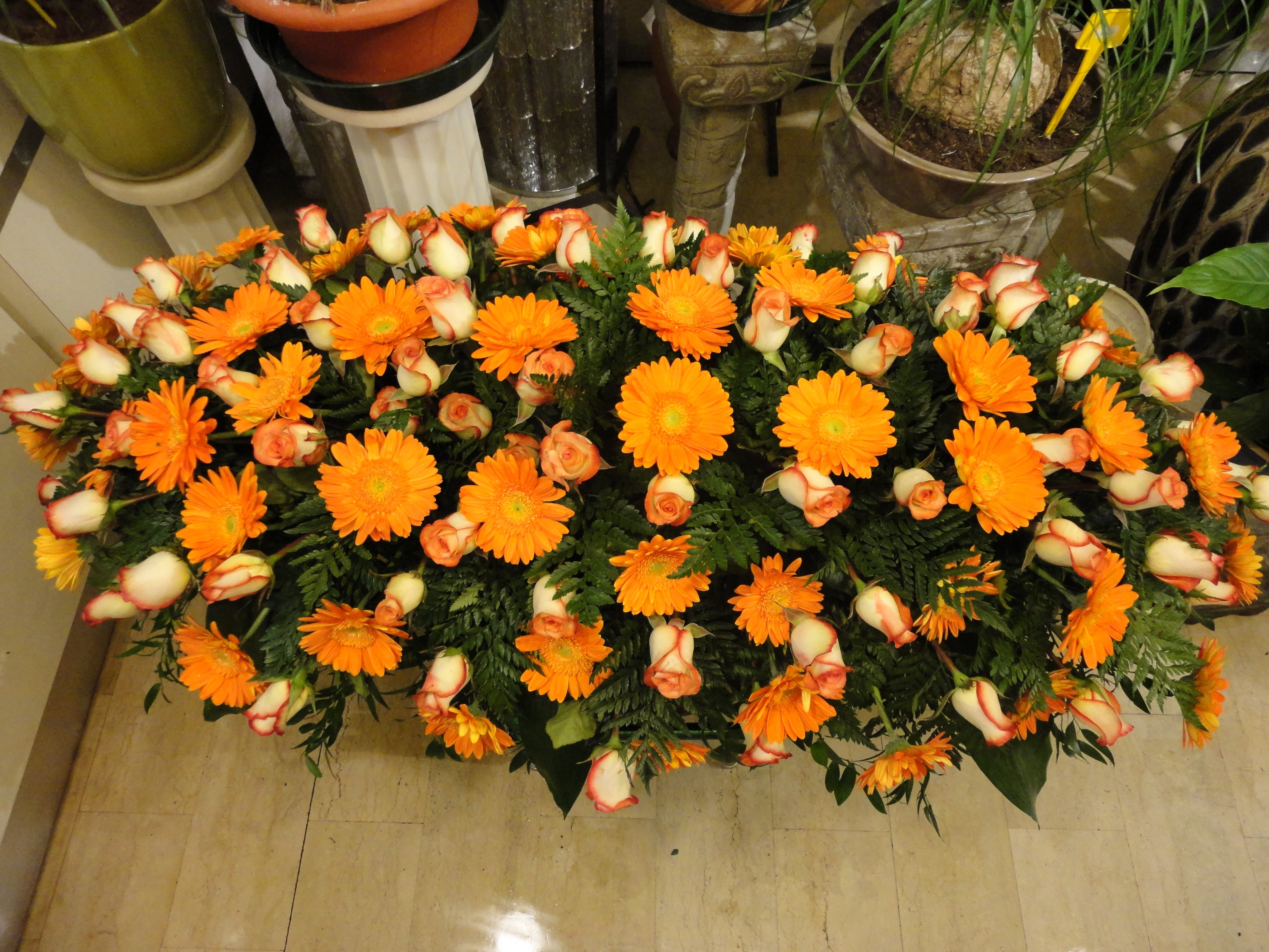 copricassa floreale
