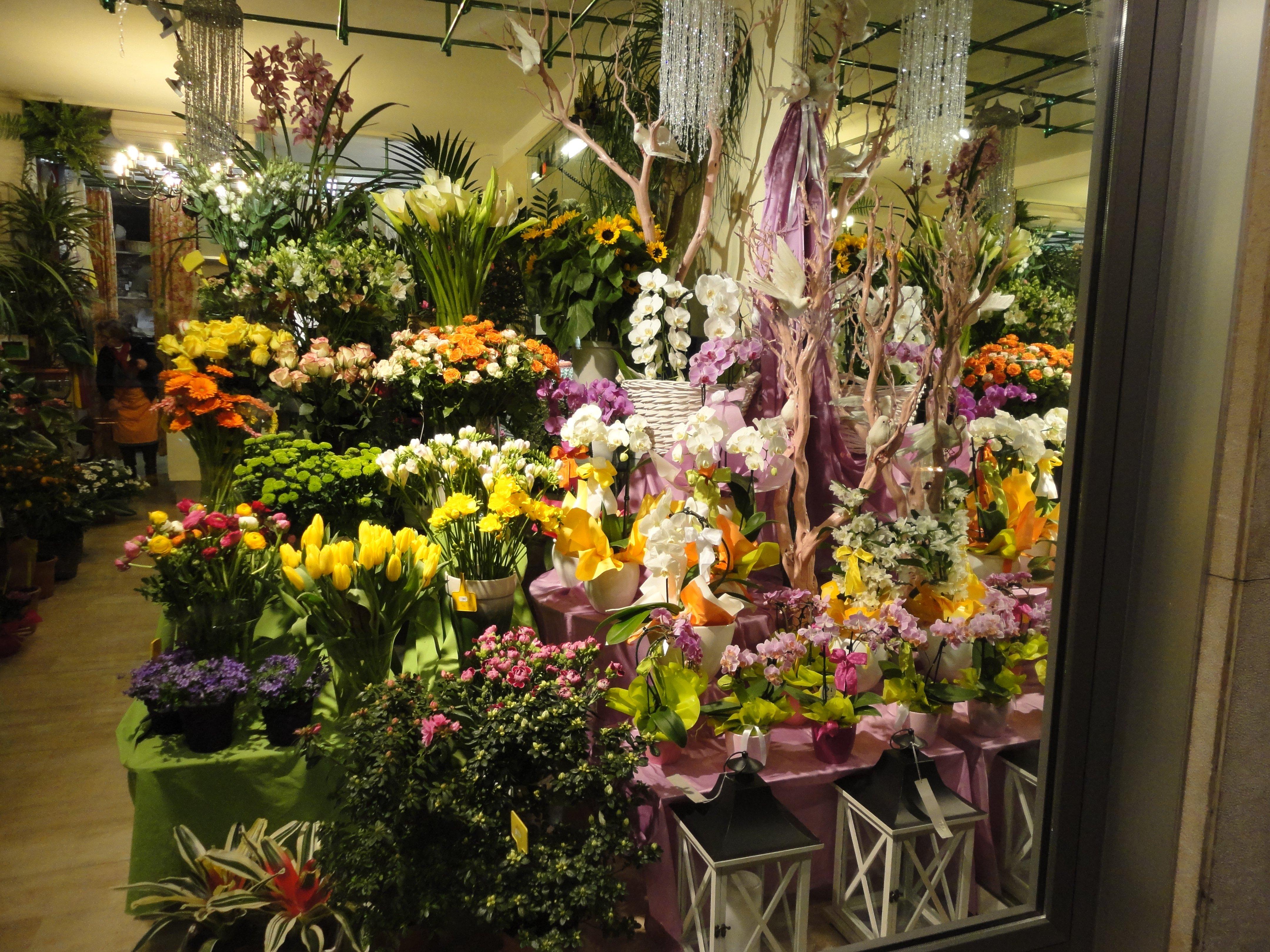 stock di fiori