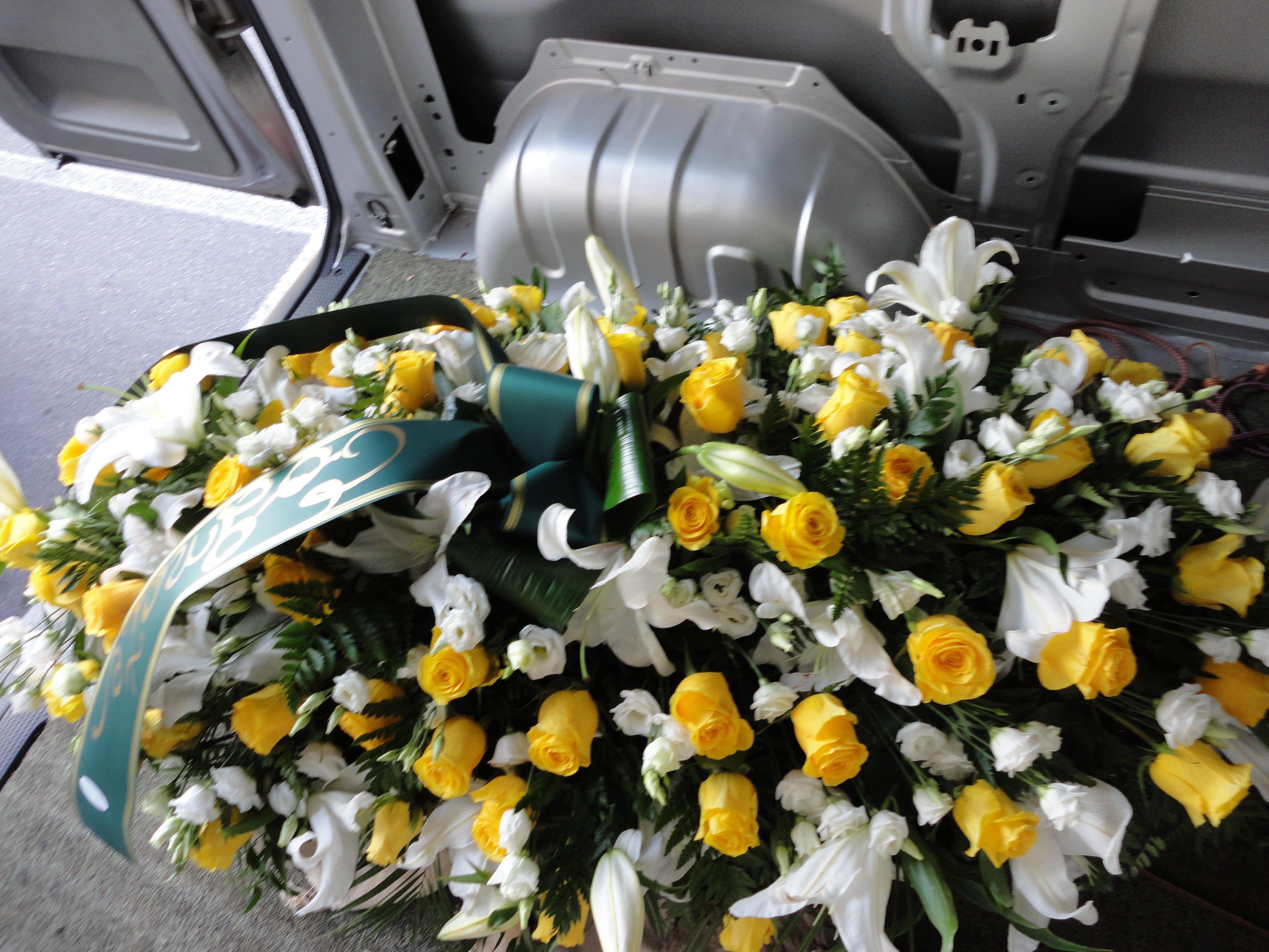 copricassa per funerali