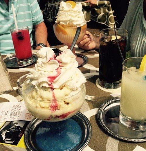 Bevande e coppe di gelati