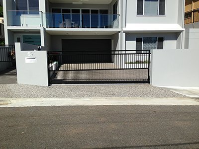 b and c balustrades pty ltd house entrance with aluminium balustrades