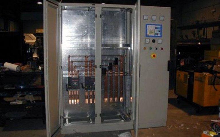 cabina gruppo elettrogeno