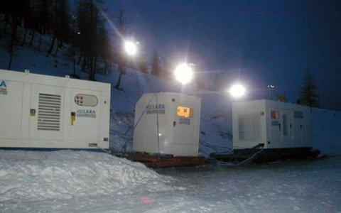 gruppi elettrogeni stazioni sciistiche