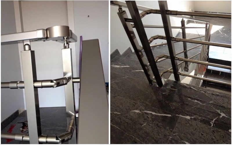 installazione ringhiere in alluminio