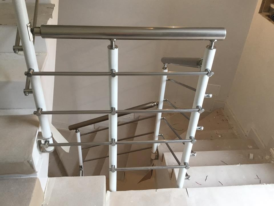 ringhiere in alluminio