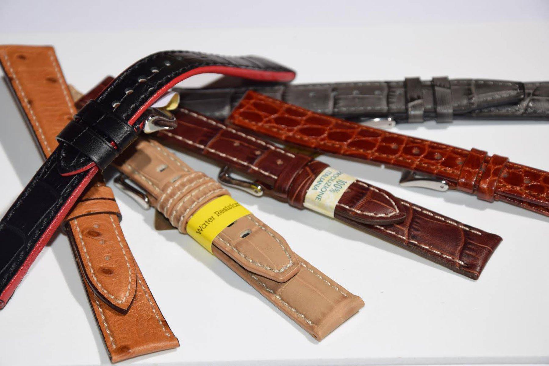 Cinturini per orologio da polso classici in pelle