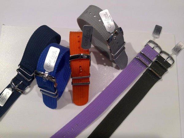dei cinturini di diversi colori