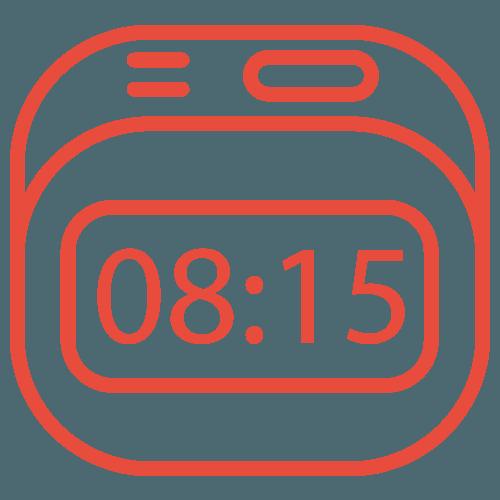 Icona di un orologio