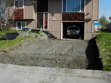 Remove & Replace driveways