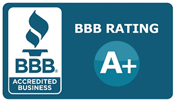 BBB logo with A+ rating
