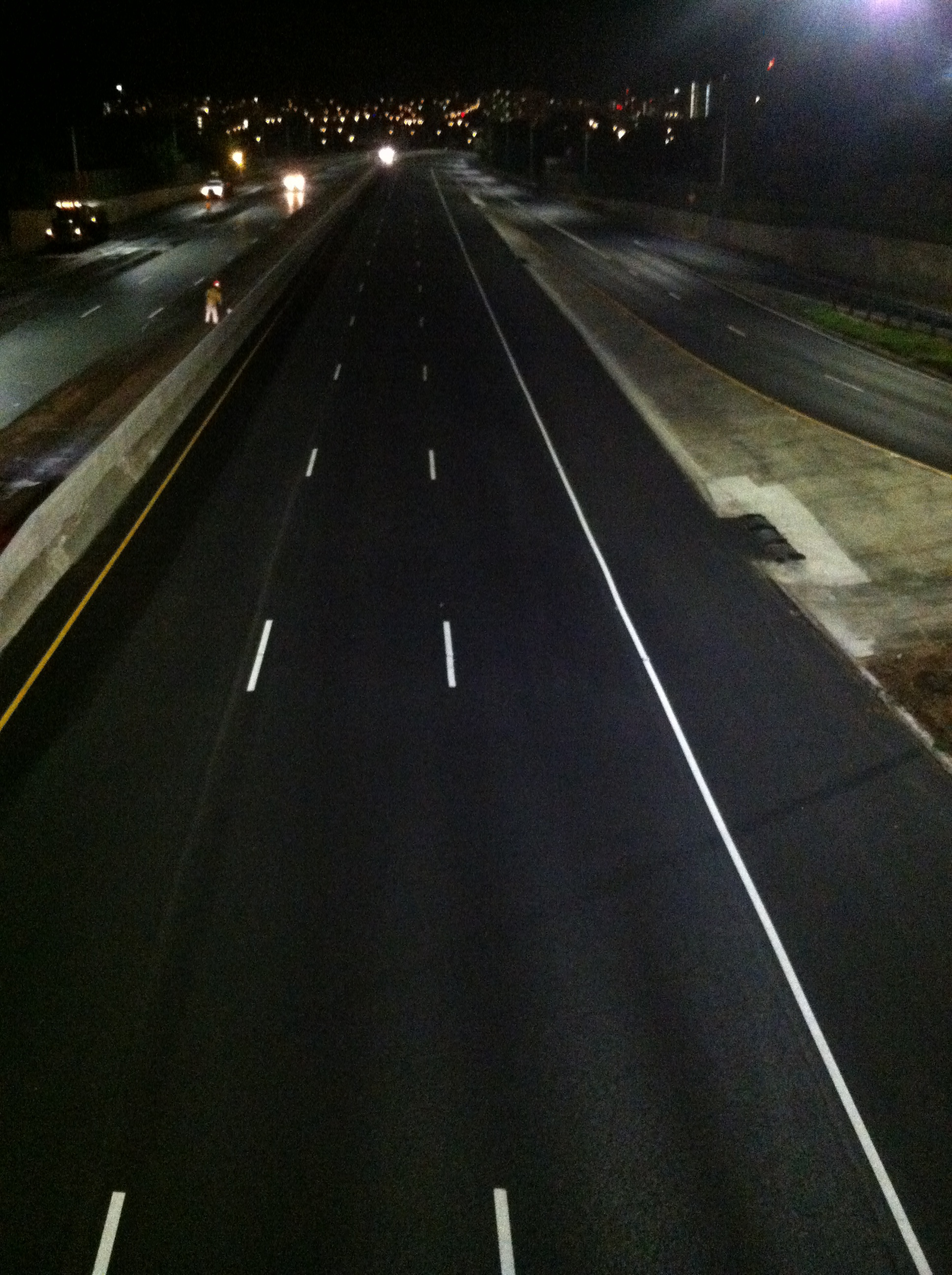 H1-Freeway Temporary Striping