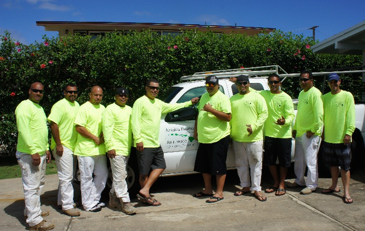 Meet Kamaka Jervis the best painting service provider in Kailua, HI