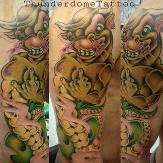 Tatuaggio fumettistico