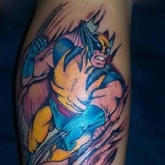 Tatuaggio Wolverine