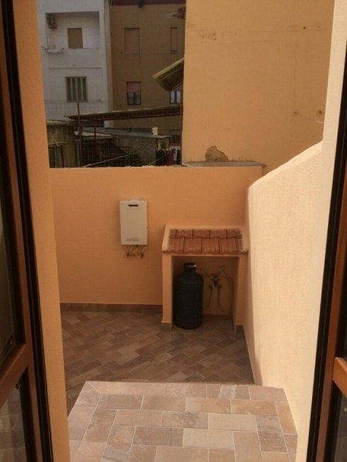 balcone di un appartamento