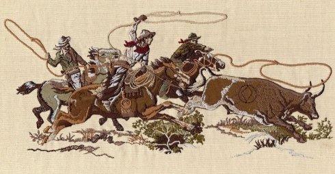 ricamo  cowboy