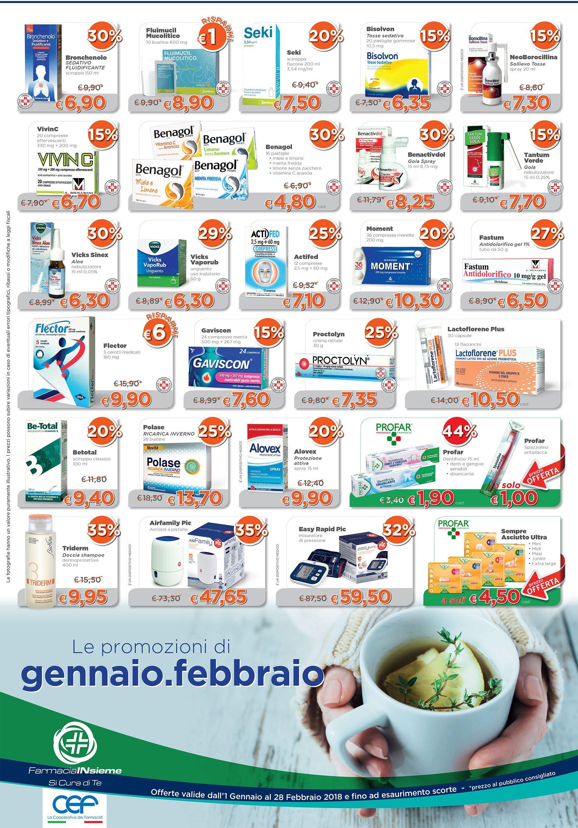offerte farmacia Novembre
