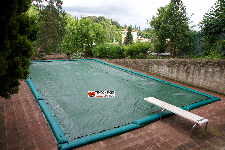 Produzione telo di copertura per piscina