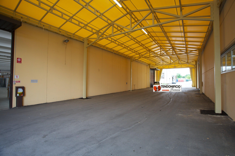 copertura capannone in pvc per interno