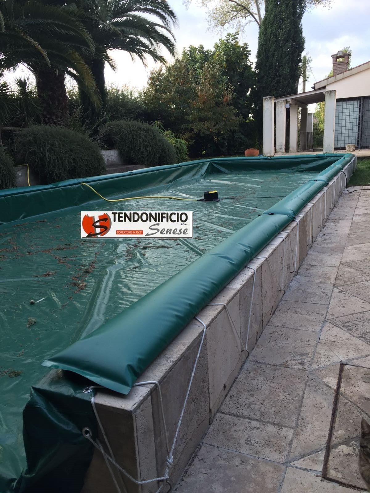 Telo termico a bolle per piscina