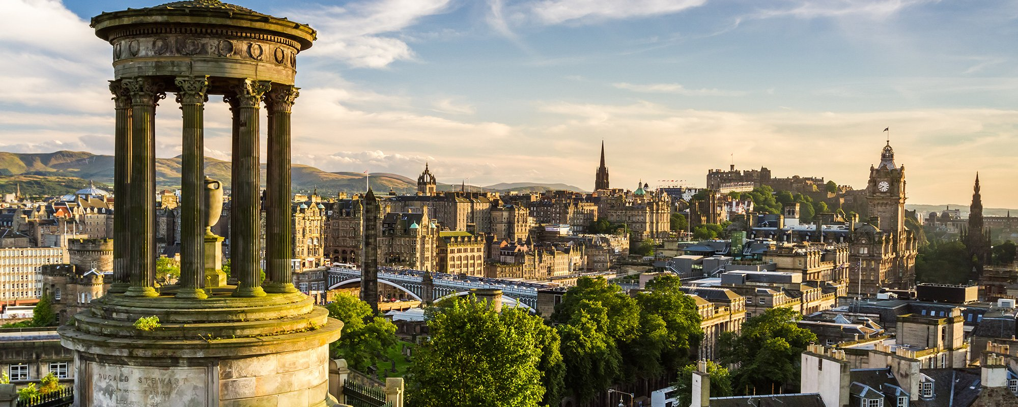 Wealth management service available in Edinburgh