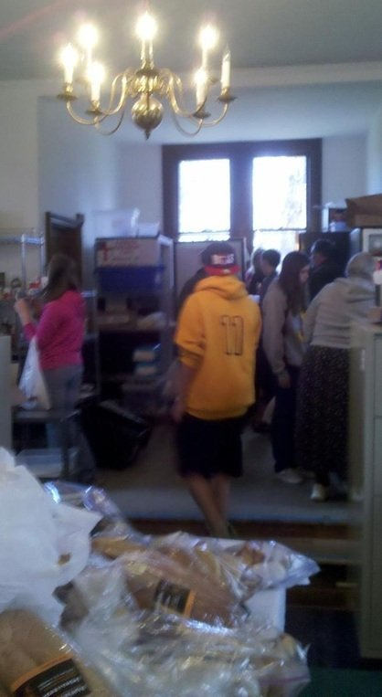 Christ Church Cares Food Pantry