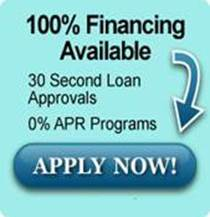 Ad for financing available