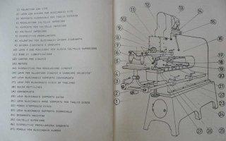 libretto macchina utensile