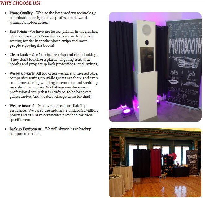 Photo Booth Rental in Abington PA