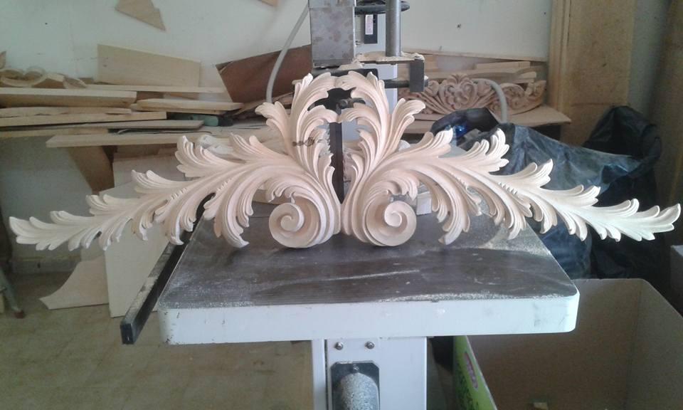 Decorazioni barocche in legno