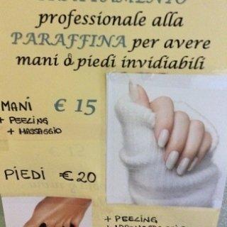 trattamento alla paraffina