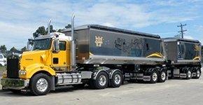 Mulgoa Quarries Pty Ltd tipper trucks