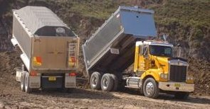 Mulgoa Quarries Pty Ltd tipper haulage