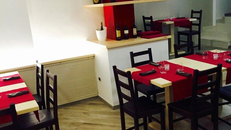 i tavoli del ristorante