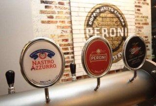 dei rubinetti della birra alla spina