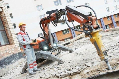 demolizione strade