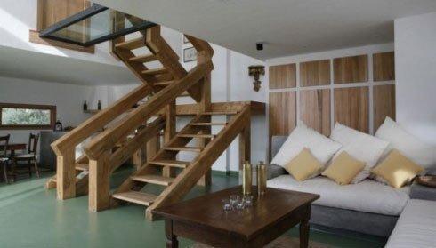 Scalette da interni in legno