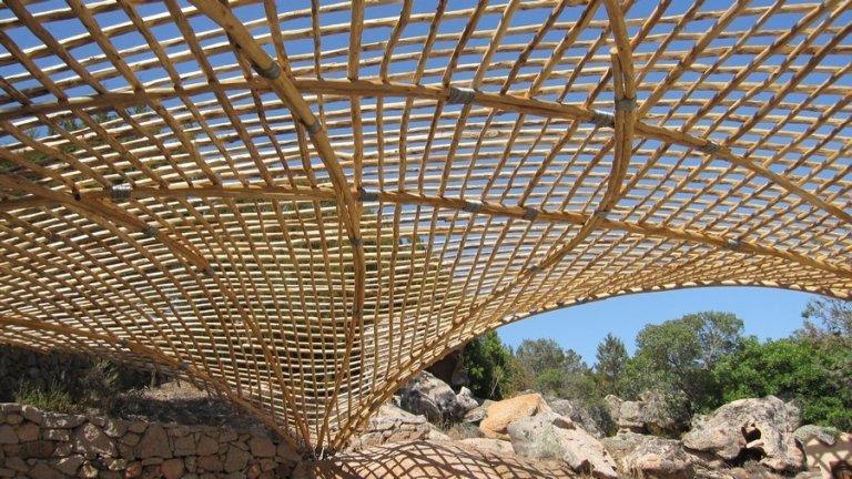Pergole in bambù