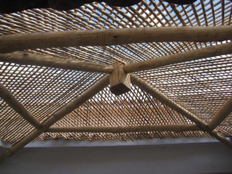 Gazebo artigianale in legno