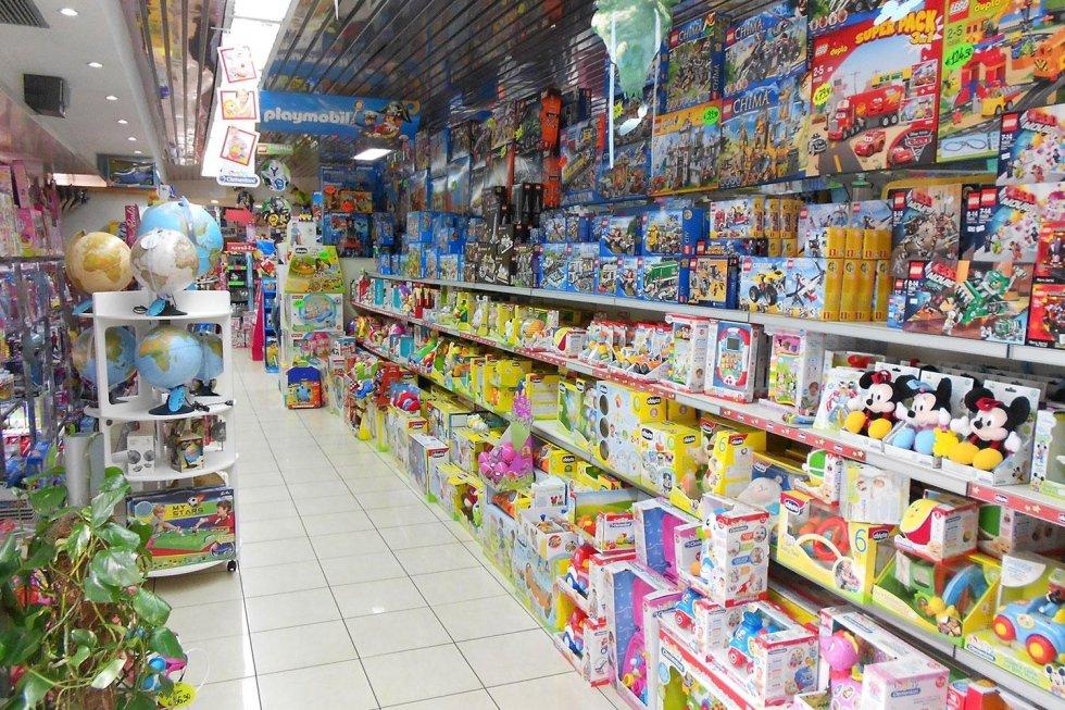 vendita giocattoli giocheria