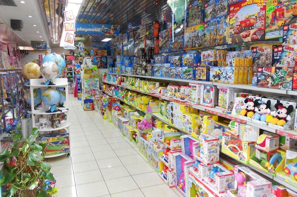 vendita giocattoli