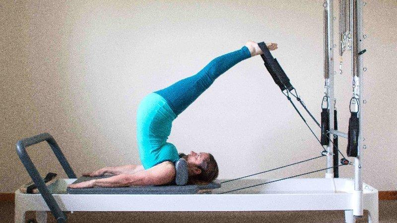 AmandaPilates Reformer Private sessions Short Spine Massage
