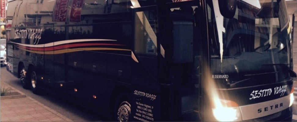 Noleggio autobus Calabria