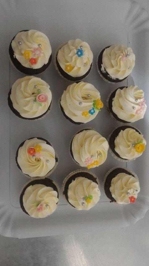cupcakes con crema di burro