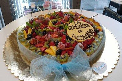 torta per prima comunione a Savona