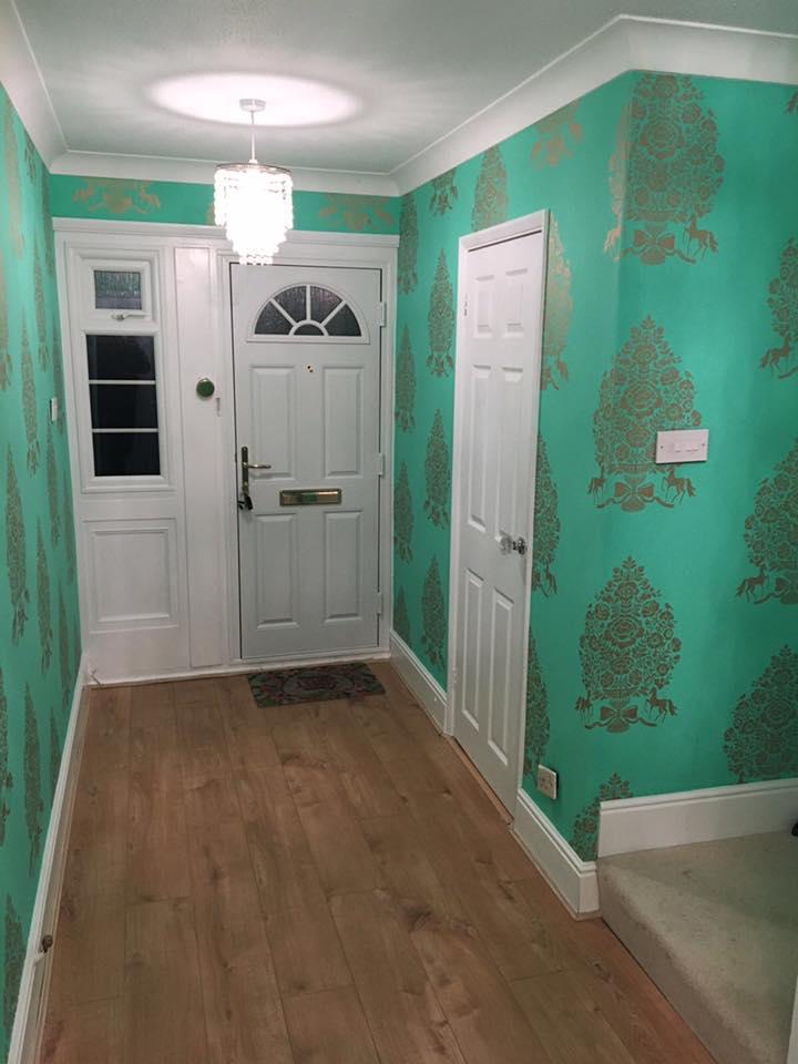 hallway wallpapers