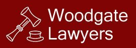 woodgate lawyers business logo